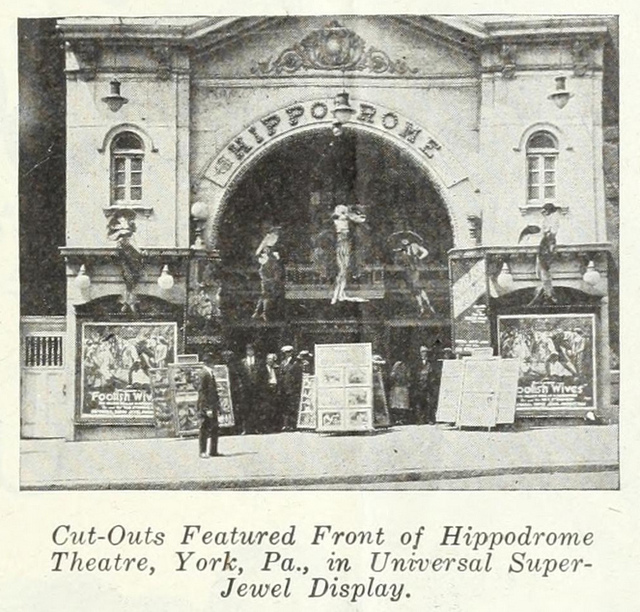 Hippodrome Theatre, York PA in 1922