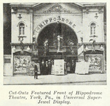 Hippodrome Theatre, York PA in 1922
