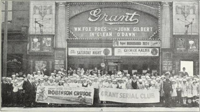 Grant Theatre, Philadelphia PA in 1922