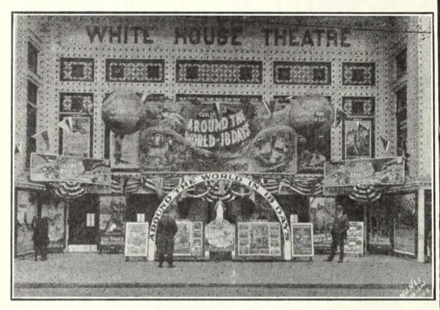 White House Theatre, Milwaukee, WI in 1922