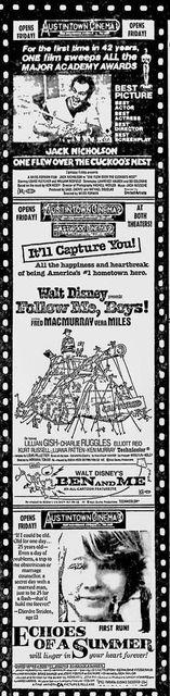 May 25th, 1976 Grand opening ad