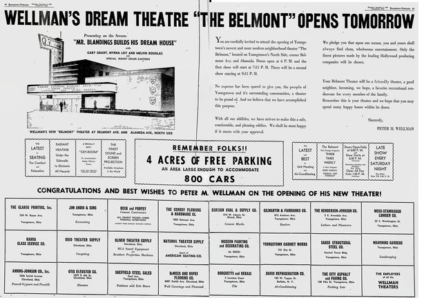 Grand opening ad December 2nd, 1948
