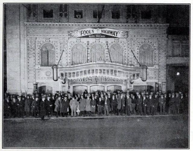 Columbia Theater, Portland, OR in 1924