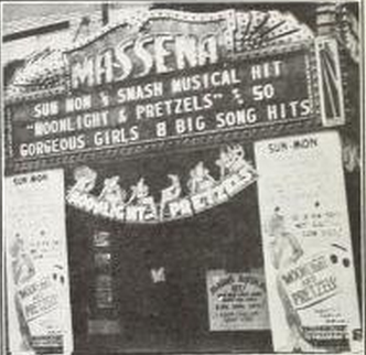 Massena Theatre, Massena, New York in 1932