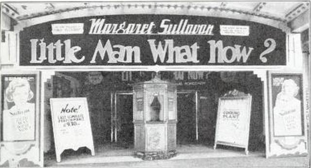 Strand Theatre, Albany, NY in 1935