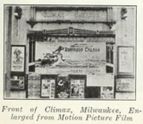 Climax Theatre, Milwaukee, WI in 1922