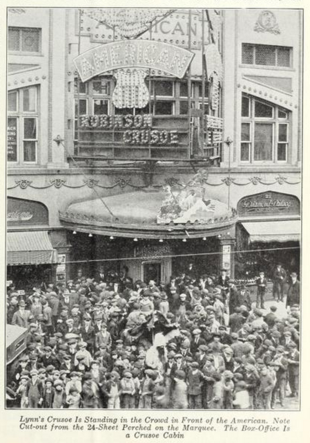 American Theatre, Butte, MT in 1922