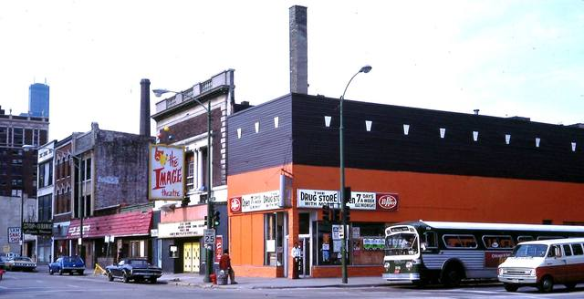 1980 photo of the Image Theatre. Photo credit John P. Keating Jr.