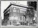 Washington Theatre, Detroit MI in 1918