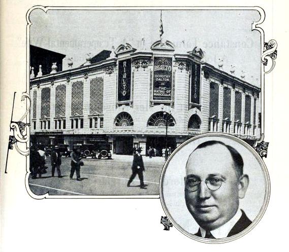 Rialto Theatre, Omaha, NB in 1919