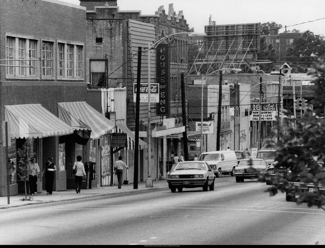 1979 photo courtesy of the Atlanta Time Machine Facebook page.