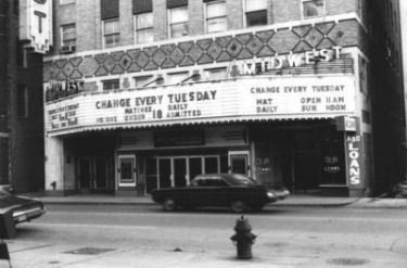 Midwest Theater, Oklahoma City, 1970's
