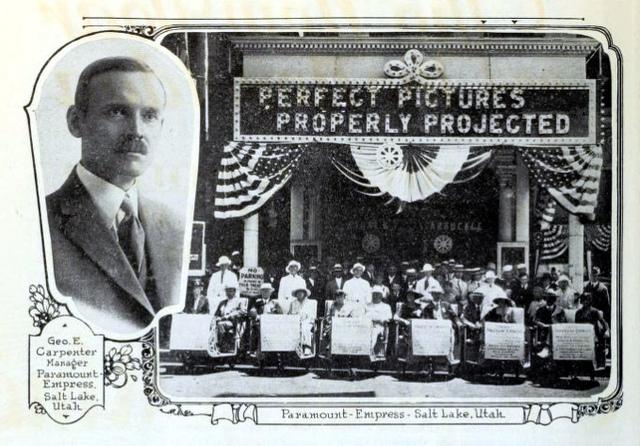 Paramount Empress Theatre, Salt Lake City, Utah in 1920