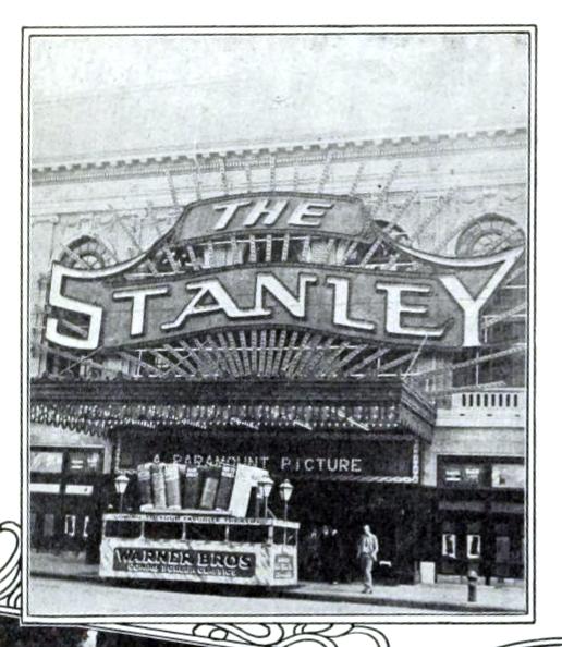Stanley Theatre, Philadelphia PA in 1922