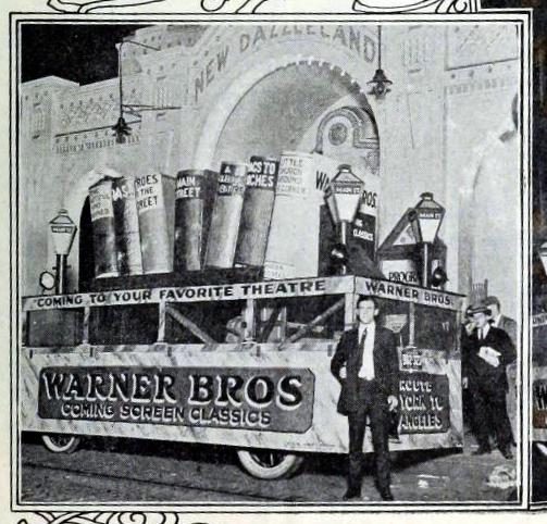 Dazzleland Theatre, Philadelphia PA in 1922