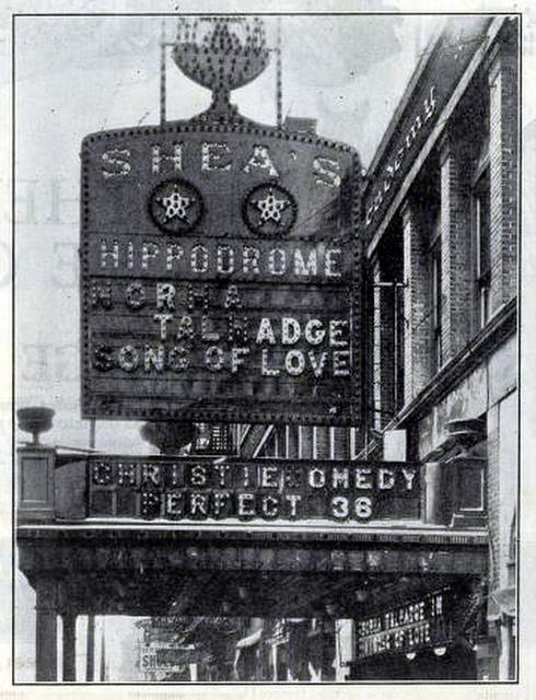 Shea's Hippodrome, Buffalo, New York in 1923