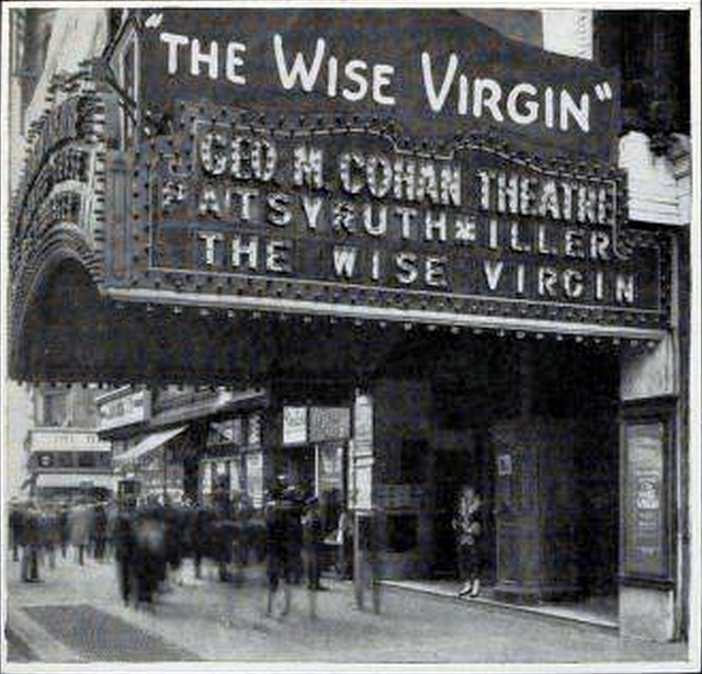 Geo. M. Cohan Theatre, New York in 1924