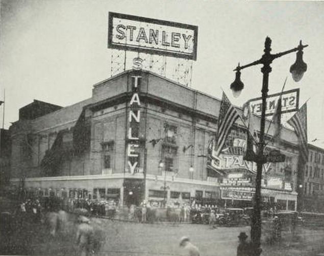 Stanley Theatre, Philadelphia PA in 1926