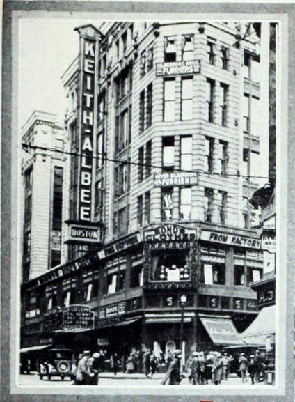 Keith Albee Theatre, Boston MA in 1926