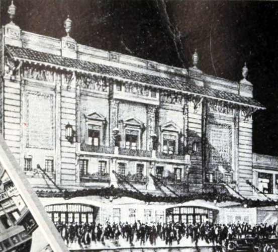 New Majestic Theatre, Houston TX in 1926 (illustration)