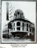 Mainstreet Theatre, Kansas City MO in 1926