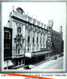 Diversey Theatre, Chicago Ill in 1926
