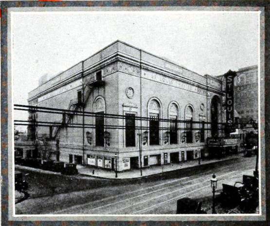 St Louis Theatre, St Louis MO in 1926