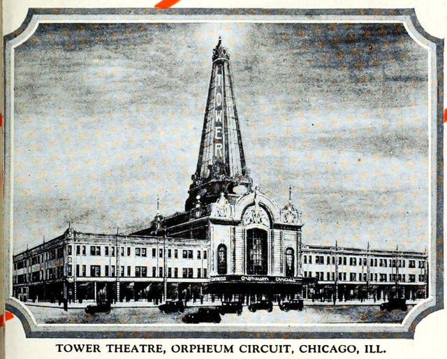 Tower Theatre, Chicago ILL in 1926