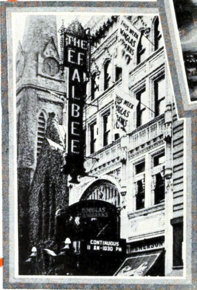 The E.F. Albee Theatre, Providence, R.I. in 1926