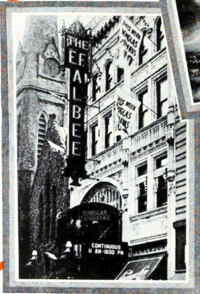 The E.F. Albee Theatre, Providence, R.I. in 1926