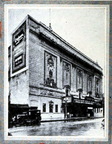 Orpheum Theatre, New Orleans LA in 1926