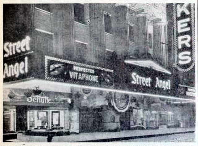 McVickers Theatre, Chicago, ILL in 1928