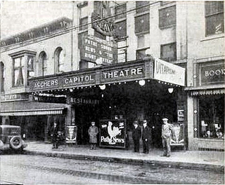 The Capitol Theatre, Manitowoc, WI in 1928