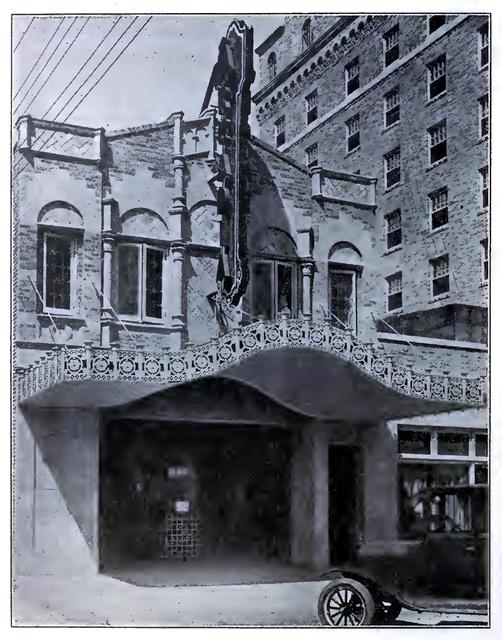 Arcadia Theatre, Ranger TX in 1928