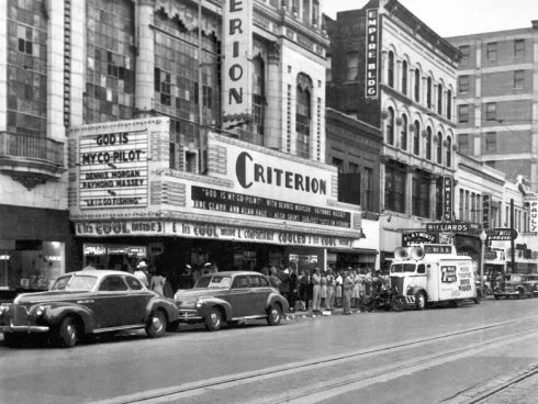 Criterion Theater, Oklahoma City, 1945
