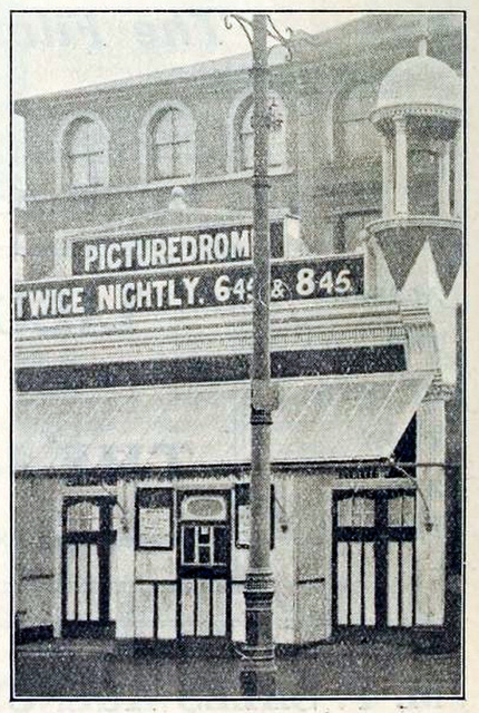 Penge Picturedrome, London UK in 1912 - Exterior
