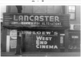 Lancaster Theater / West End Cinema