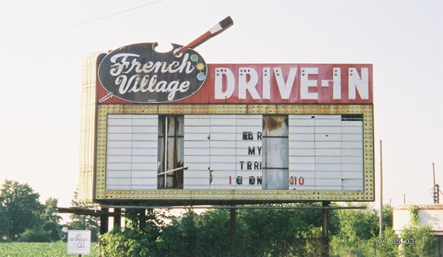 French Village Drive-In