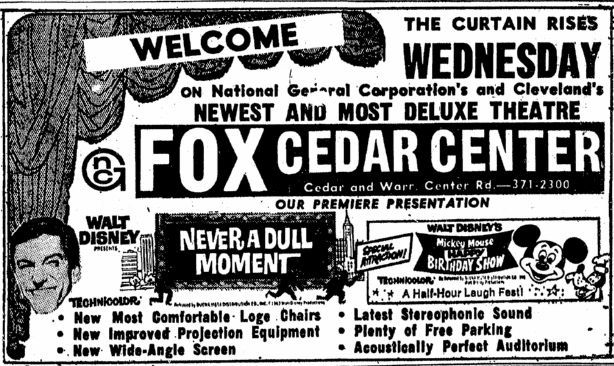 August 6th, 1968 grand opening ad