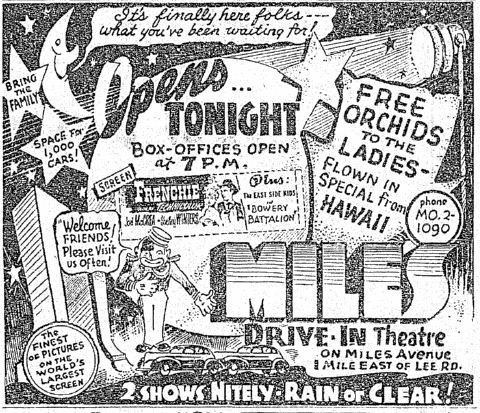 June 22nd, 1951 grand opening ad