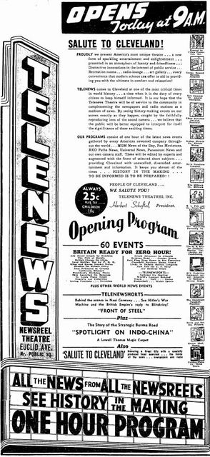 February 1st, 1941 grand opening ad