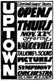 November 19th, 1928 pre opening ad