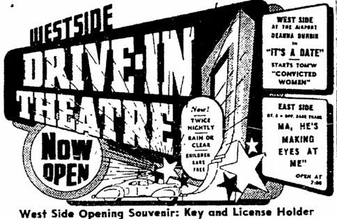 July 4th, 1940 grand opening ad