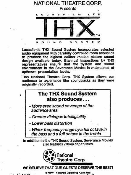 THX announcement
