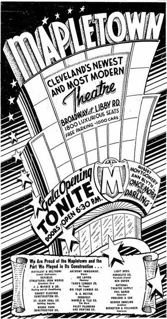 November 23rd, 1949 grand opening ad