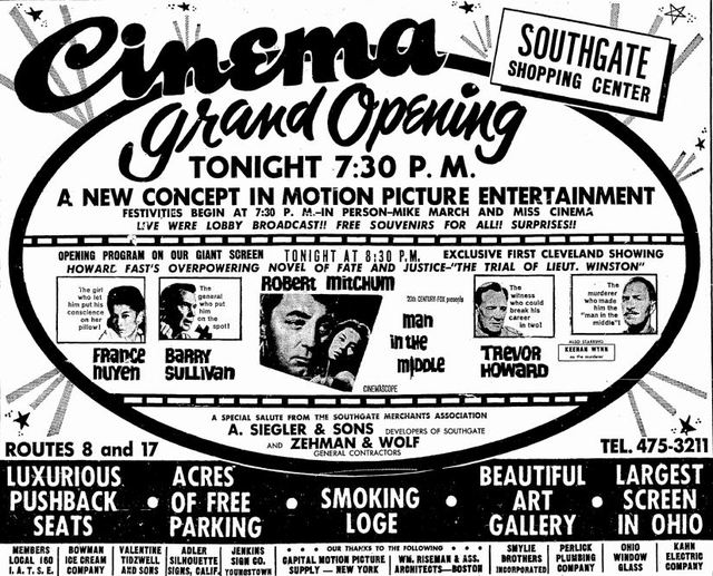February 20th, 1964 grand opening ad