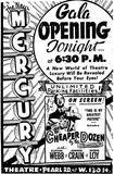 Granada grand opening ad May 18th, 1950
