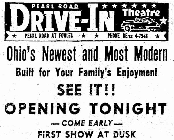 July 22nd, 1955 grand opening ad