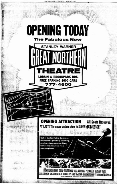 March 24th, 1966 grand opening ad