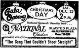 December 24th, 1971 grand opening ad